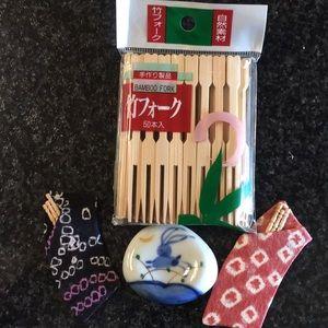 Chopstick rest holder